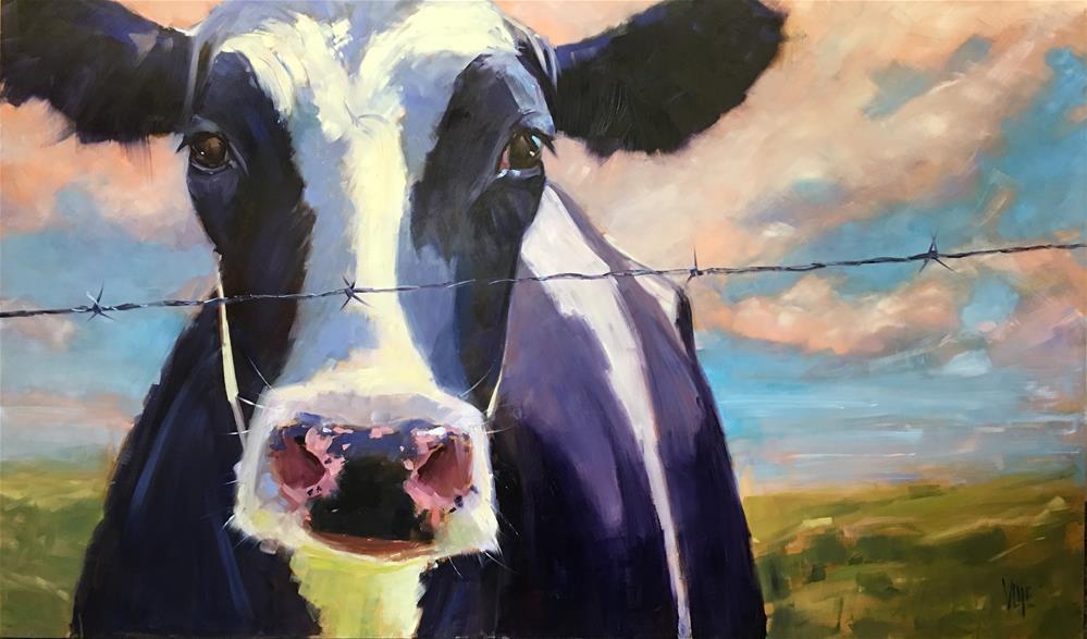 """#407 King of the Road"" original fine art by Patty Voje"