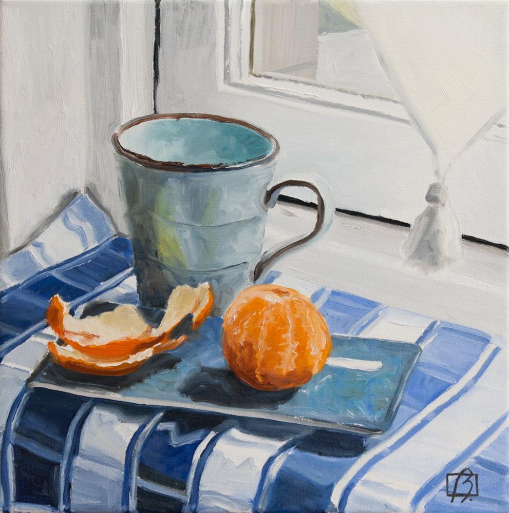 """My Afternoon Tea Break"" original fine art by Andre Beaulieu"