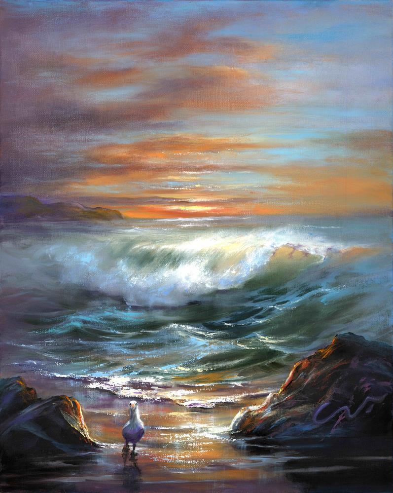 """""""Sun Dance"""" original fine art by Sharon Abbott-Furze"""