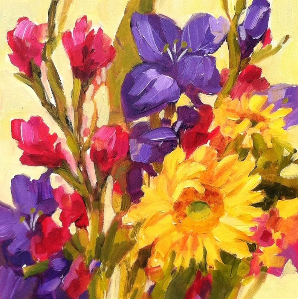 """Color Special"" original fine art by Libby Anderson"