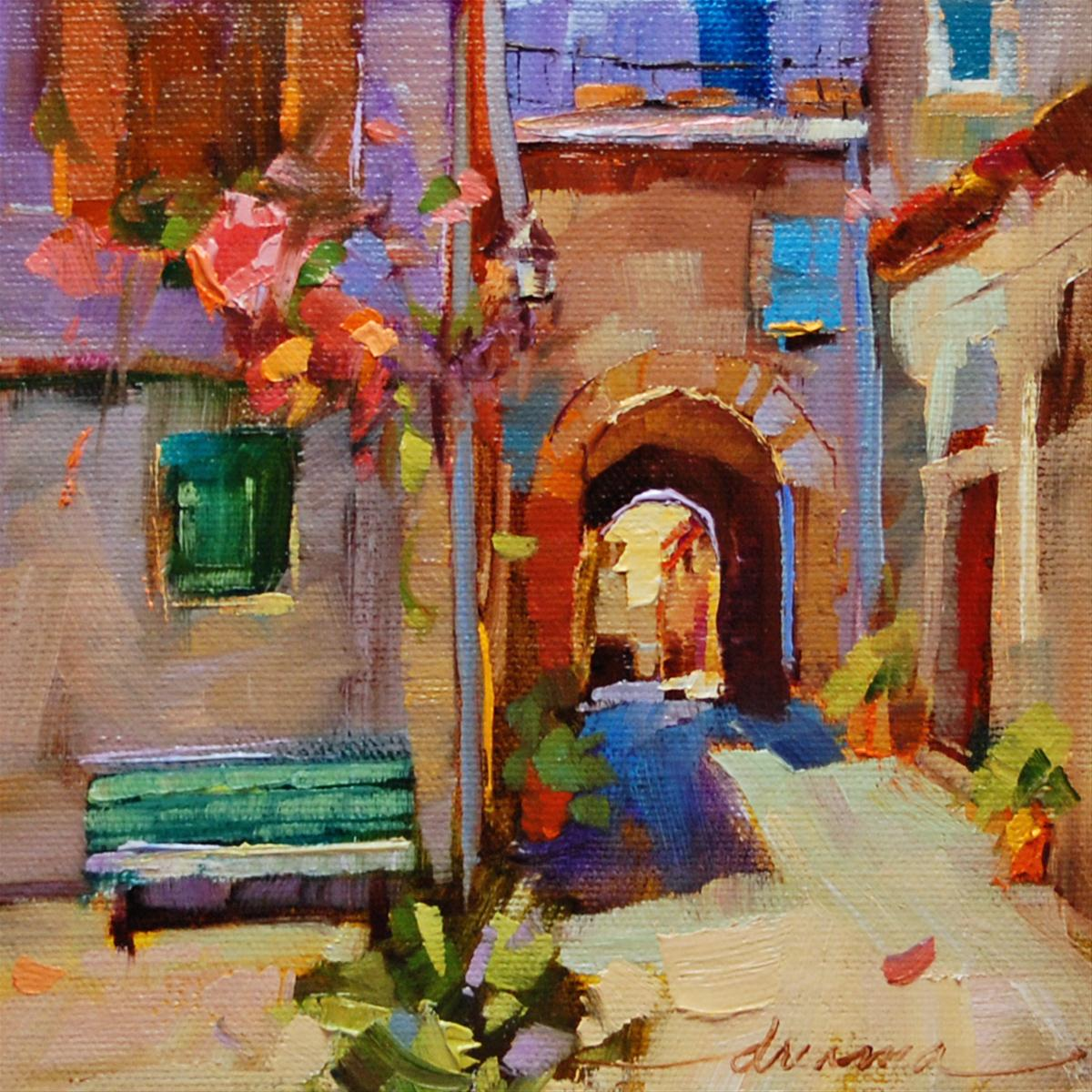 """""""Passage to Joy"""" original fine art by Dreama Tolle Perry"""