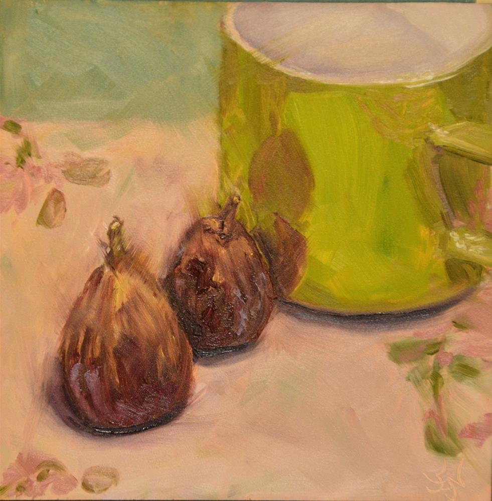 """Figs R Us"" original fine art by Jan Jackson"
