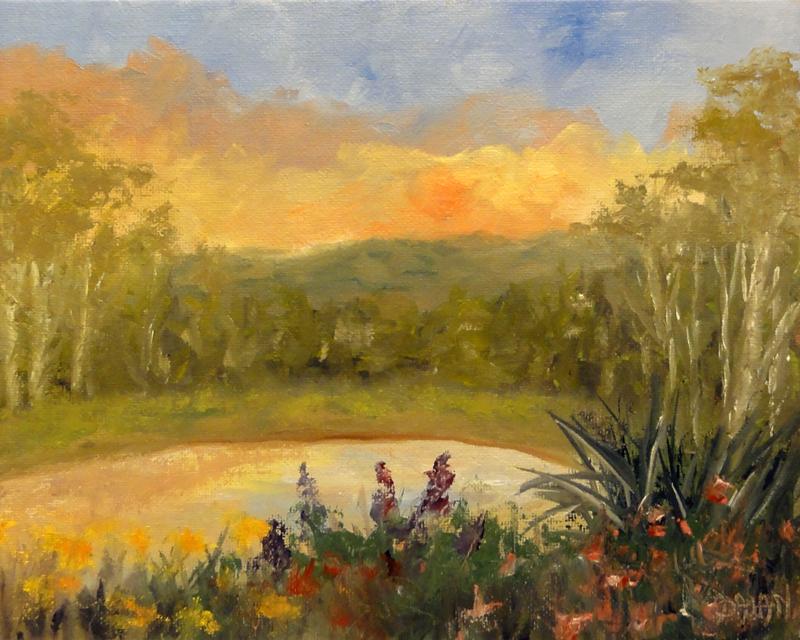 """For Vermont"" original fine art by Dalan Wells"