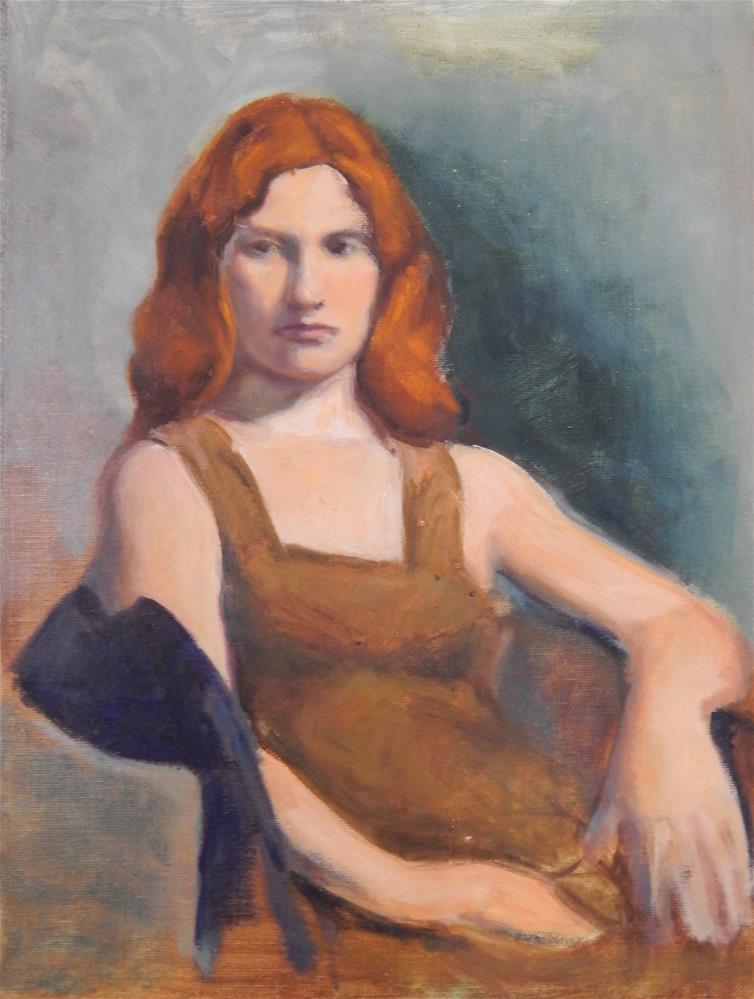 """Laura"" original fine art by Megan Schembre"