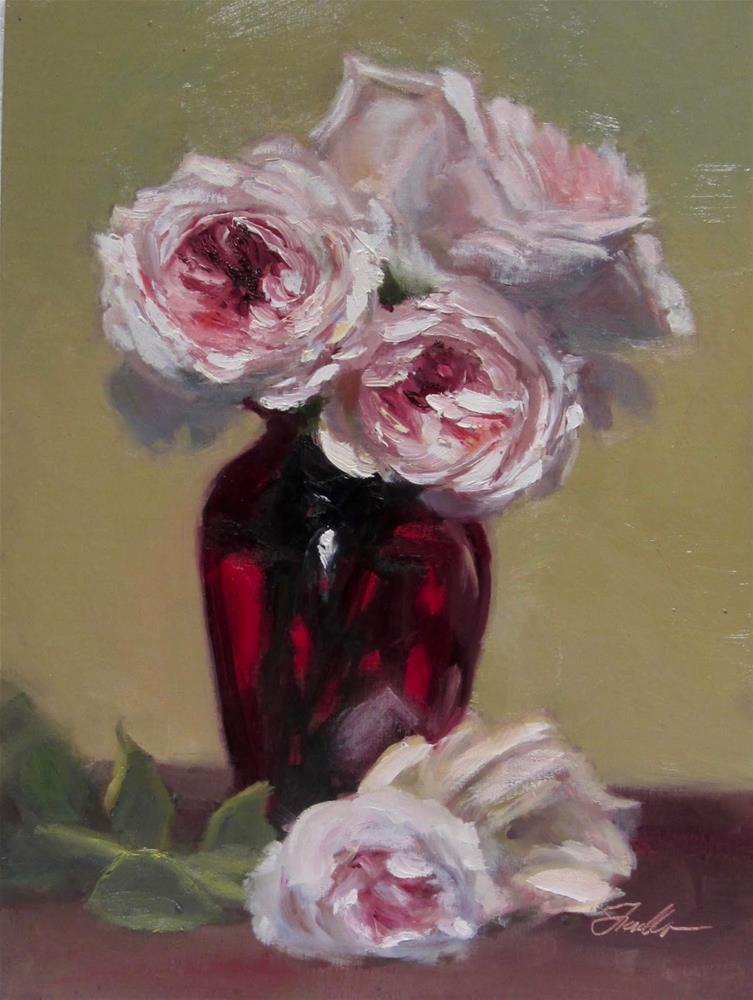 """Ruby Red"" original fine art by Pat Fiorello"
