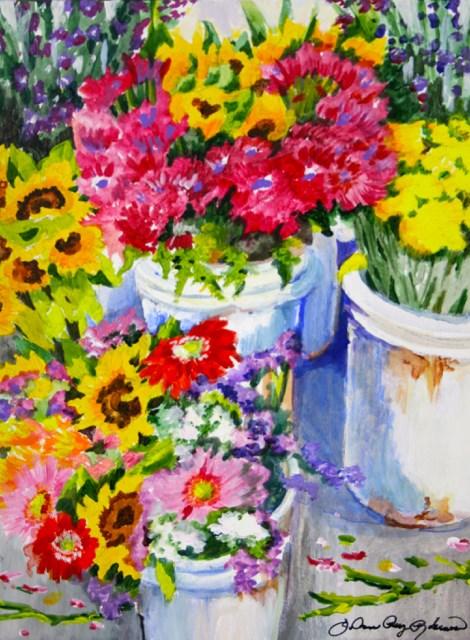 """Contained"" original fine art by JoAnne Perez Robinson"
