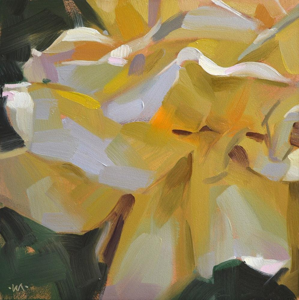 """Circus Rose"" original fine art by Carol Marine"