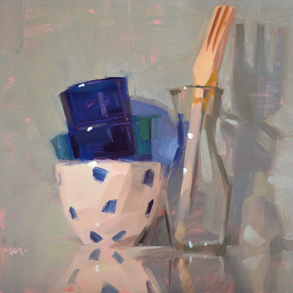 """""""A Random Assortment"""" original fine art by Carol Marine"""