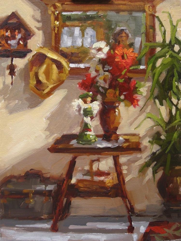 """""""In The Entryway"""" original fine art by Karen Werner"""