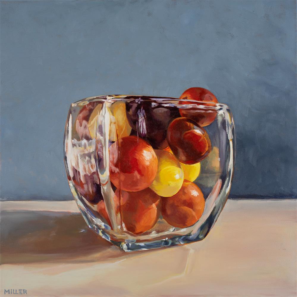 """Cherry Tomatoes"" original fine art by Matthew Miller"