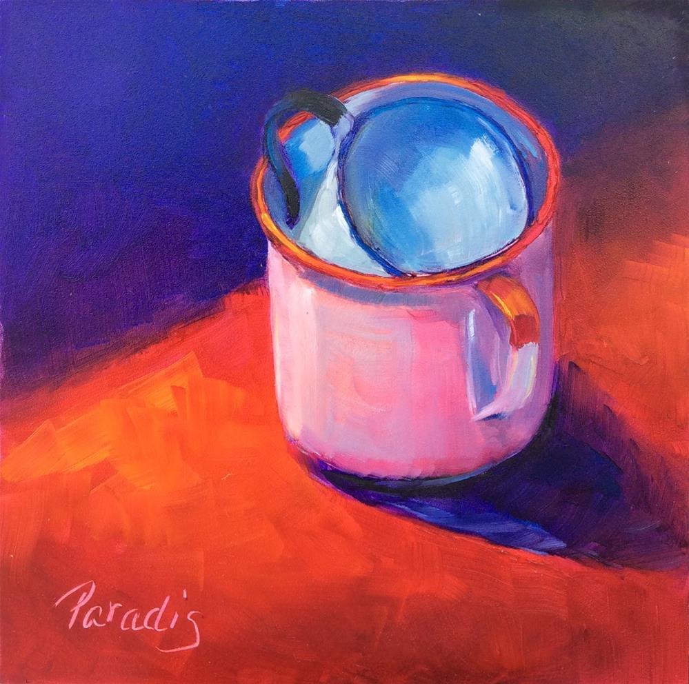 """Camp Cups"" original fine art by Rita Paradis"