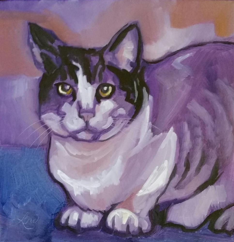 """Smug Shot"" original fine art by Leni Tarleton"
