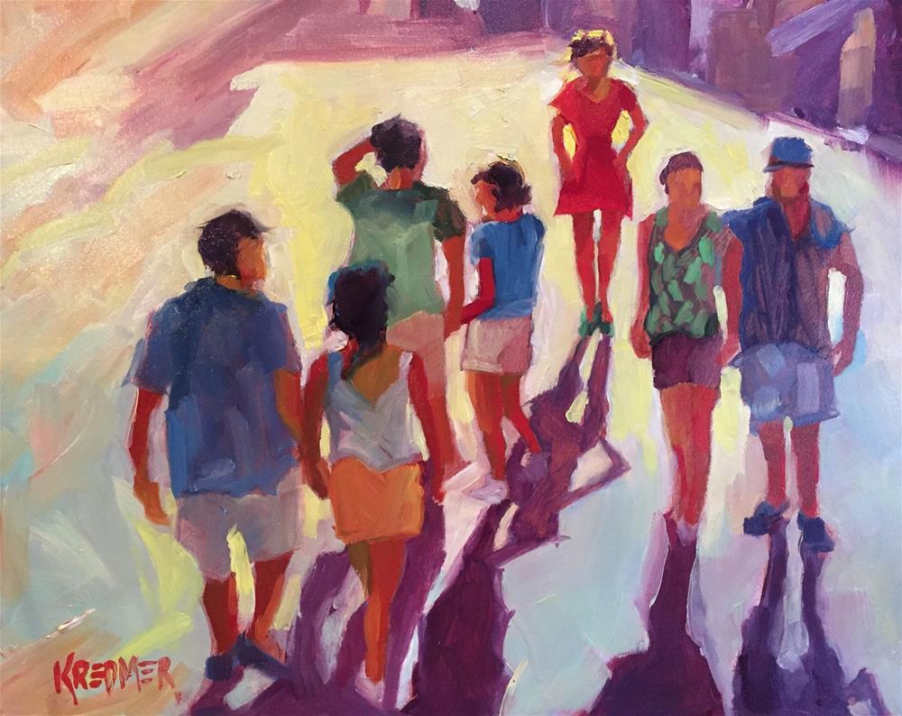 """""""Choices"""" original fine art by Kathleen Redmer"""