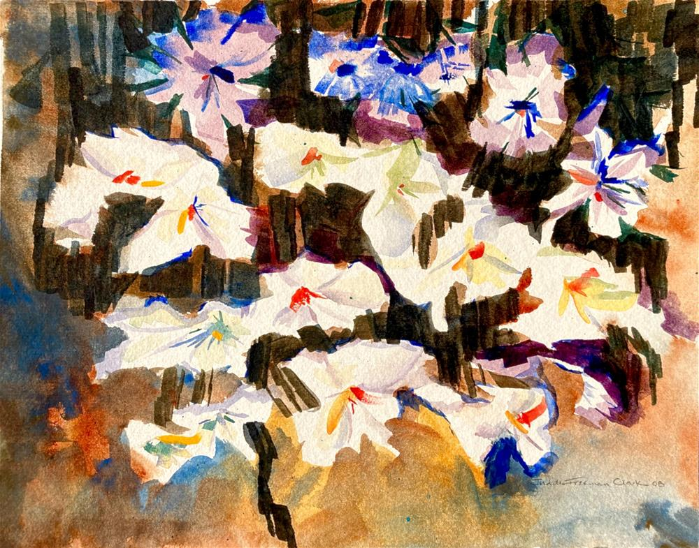"""Persephone's Garden"" original fine art by Judith Freeman Clark"