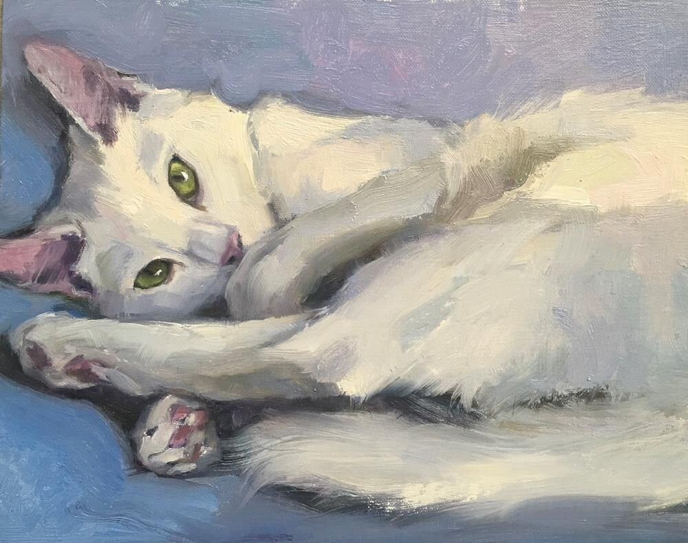 """Adopt306"" original fine art by Katya Minkina"