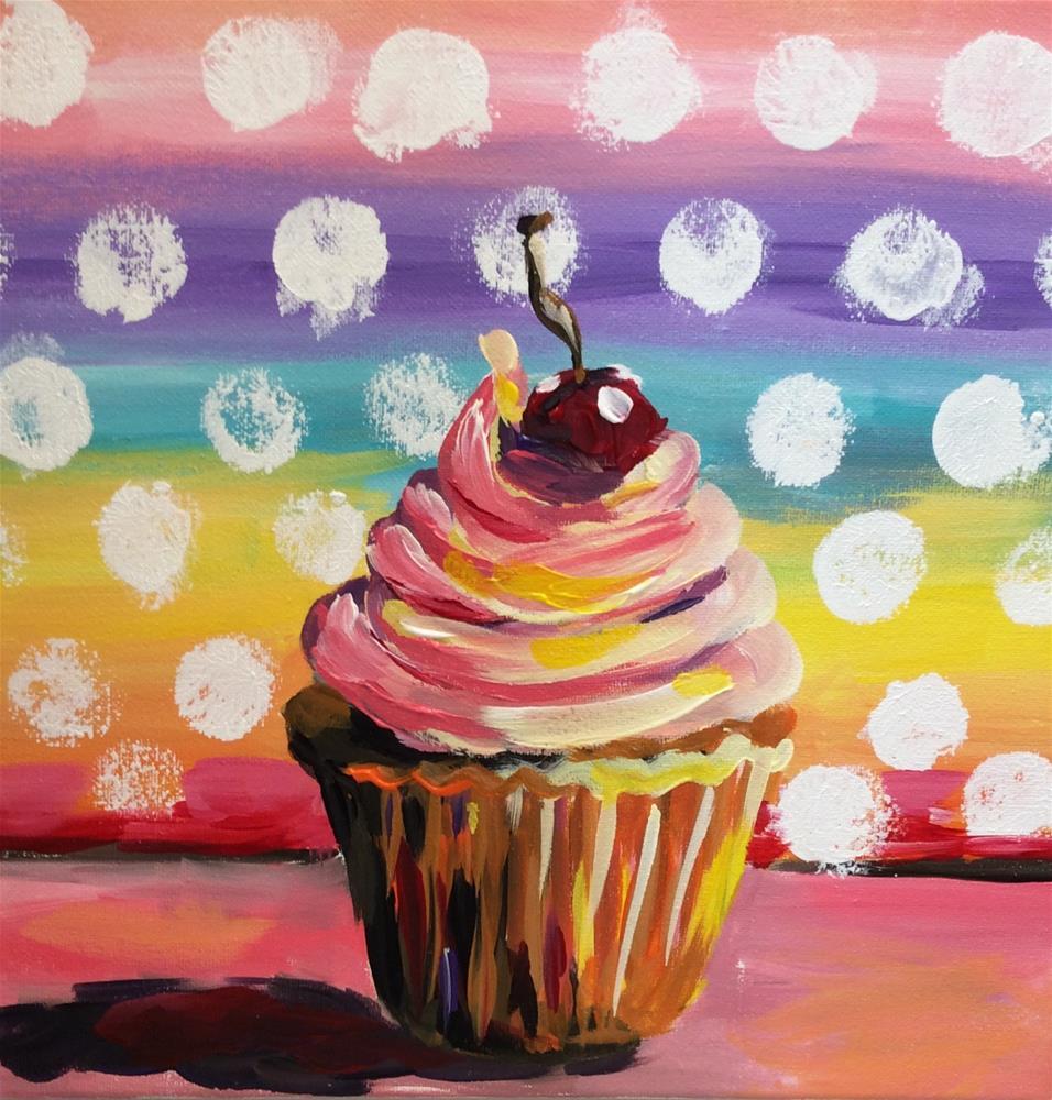 """Celebration"" original fine art by Molly Rohrscheib Hathaway"