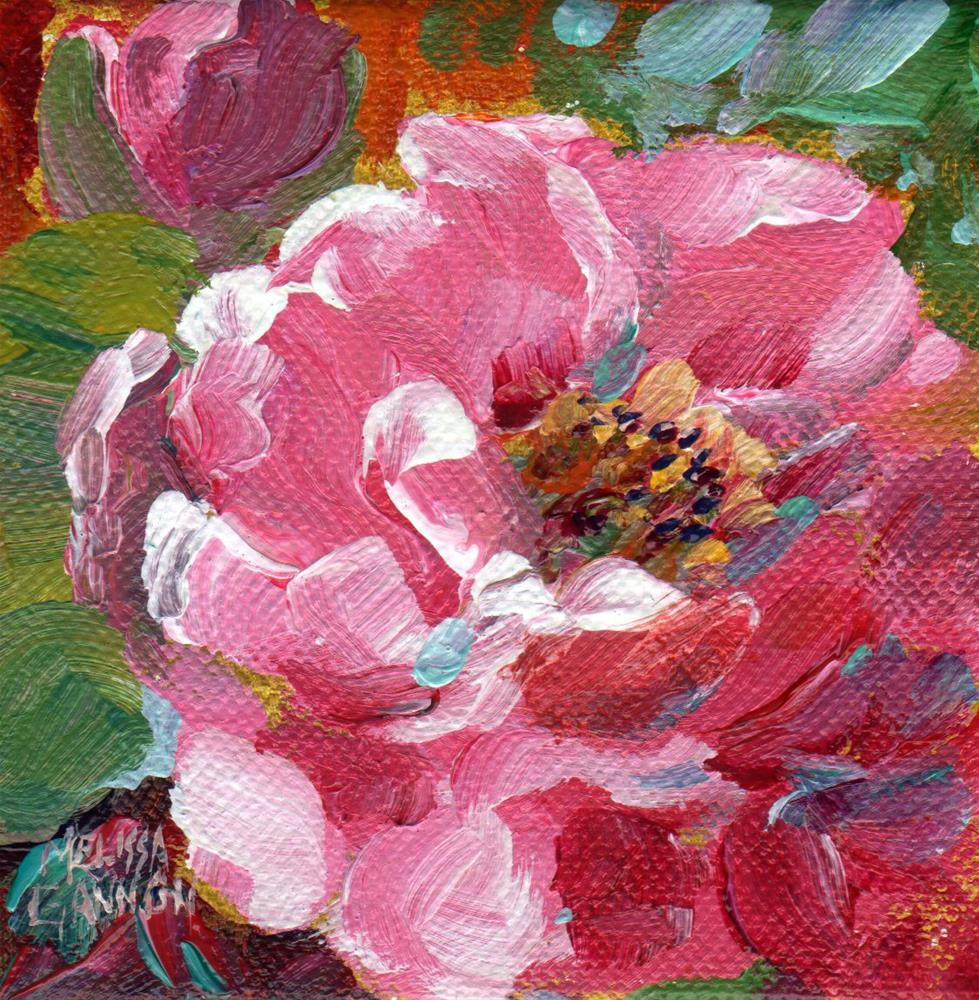 """Open Petals"" original fine art by Melissa Gannon"
