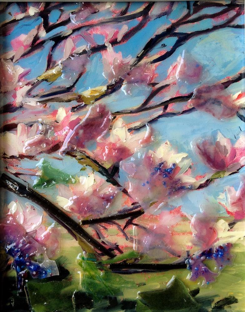 """Magnolia Spring"" original fine art by Kristen Dukat"