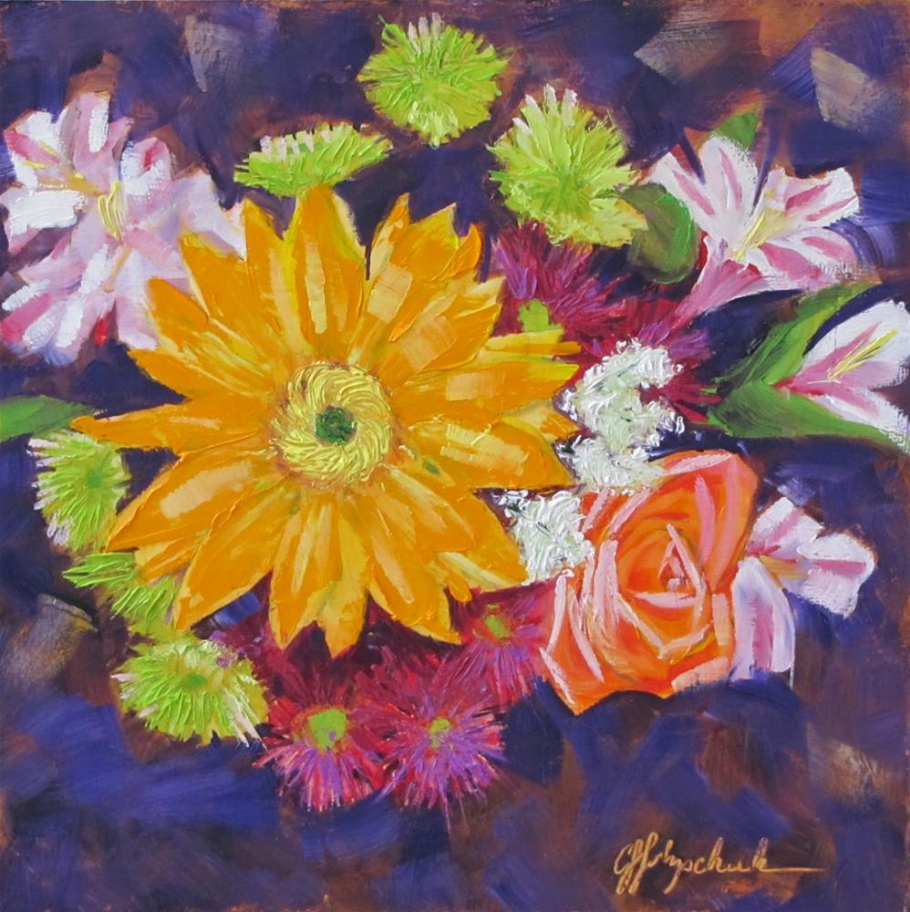 """""""Stealing the Show"""" original fine art by Christine Holzschuh"""