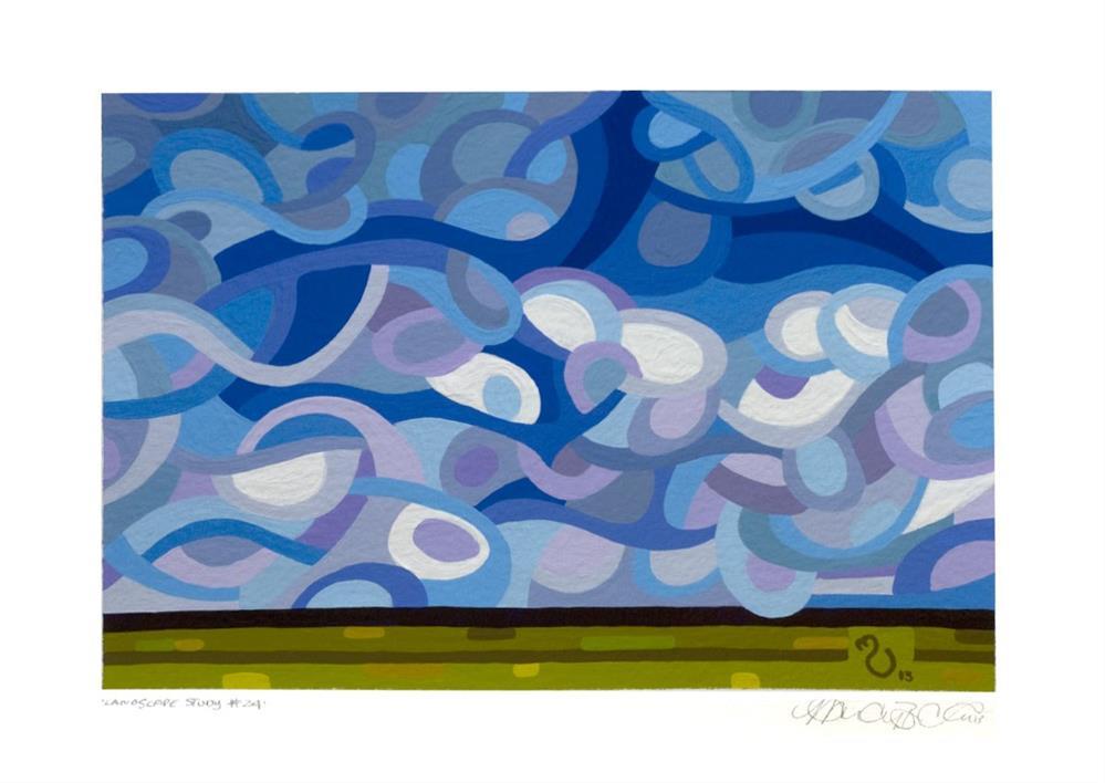 """Landscape Study #24"" original fine art by Mandy Budan"