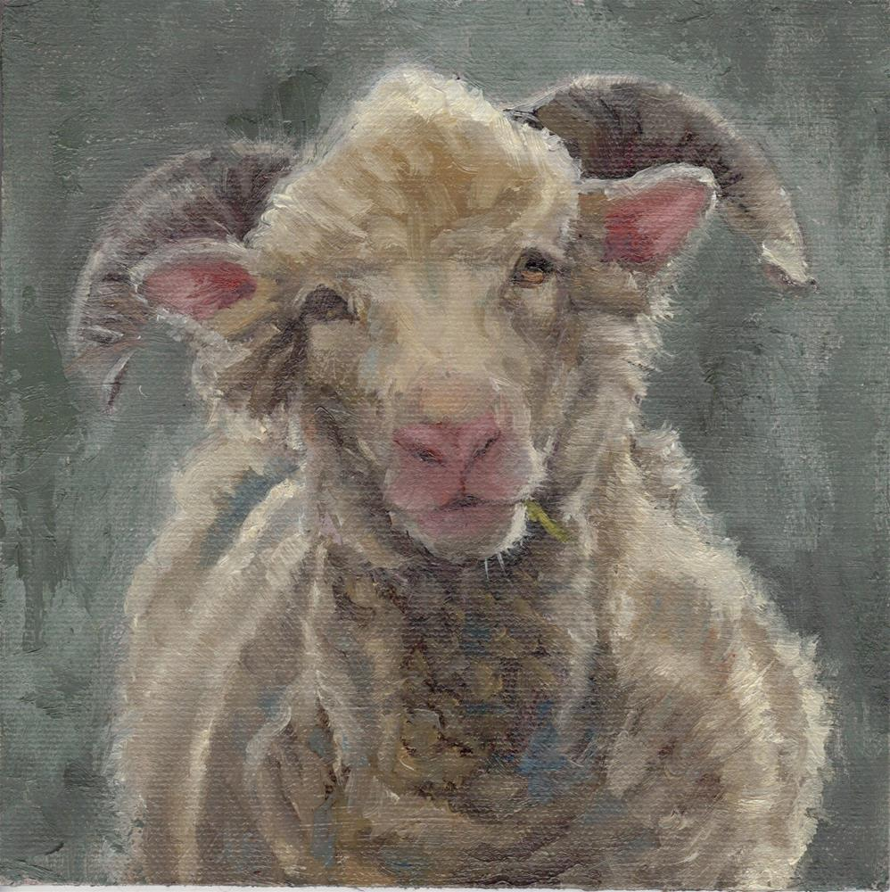 """Who Are Ewe?"" original fine art by Tahirih Goffic"