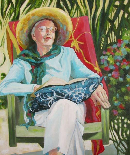 """The Light in June"" original fine art by Patricia MacDonald"
