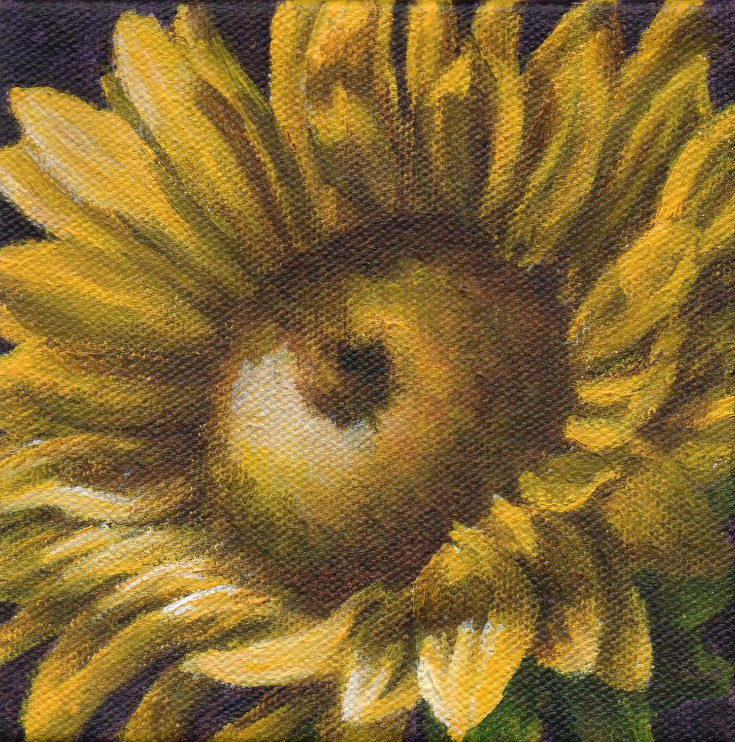"""Sun Dance Series #4 - Summer Sun"" original fine art by Debbie Shirley"