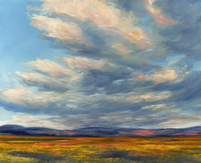 """Mountain Song"" original fine art by Carol Zirkle"