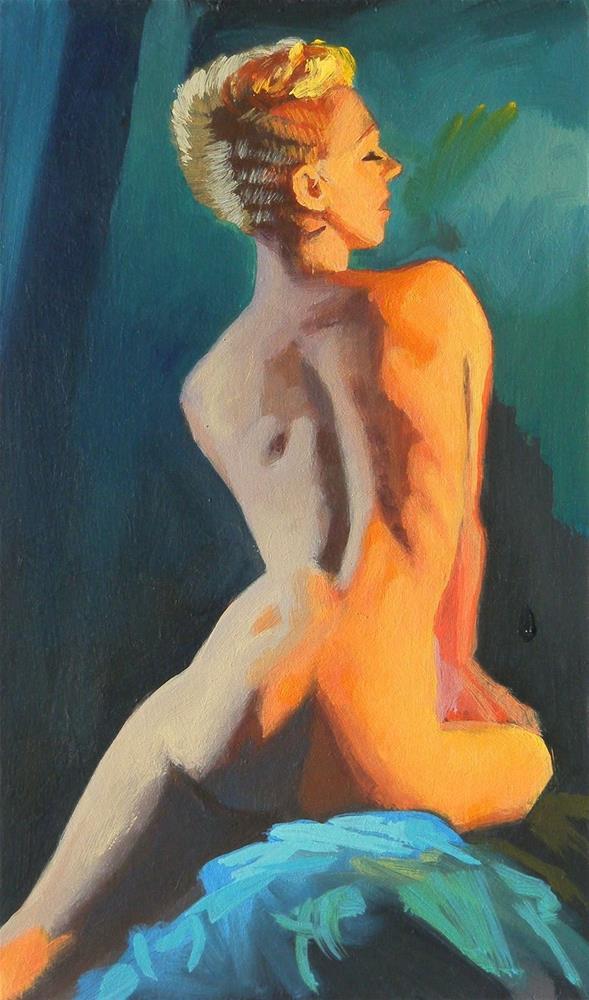 """""""Angular light"""" original fine art by Peter Orrock"""