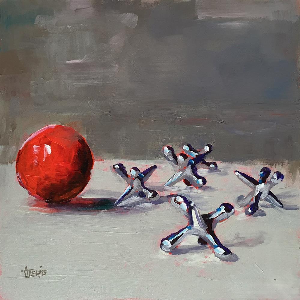 """Five-sies"" original fine art by Andrea Jeris"