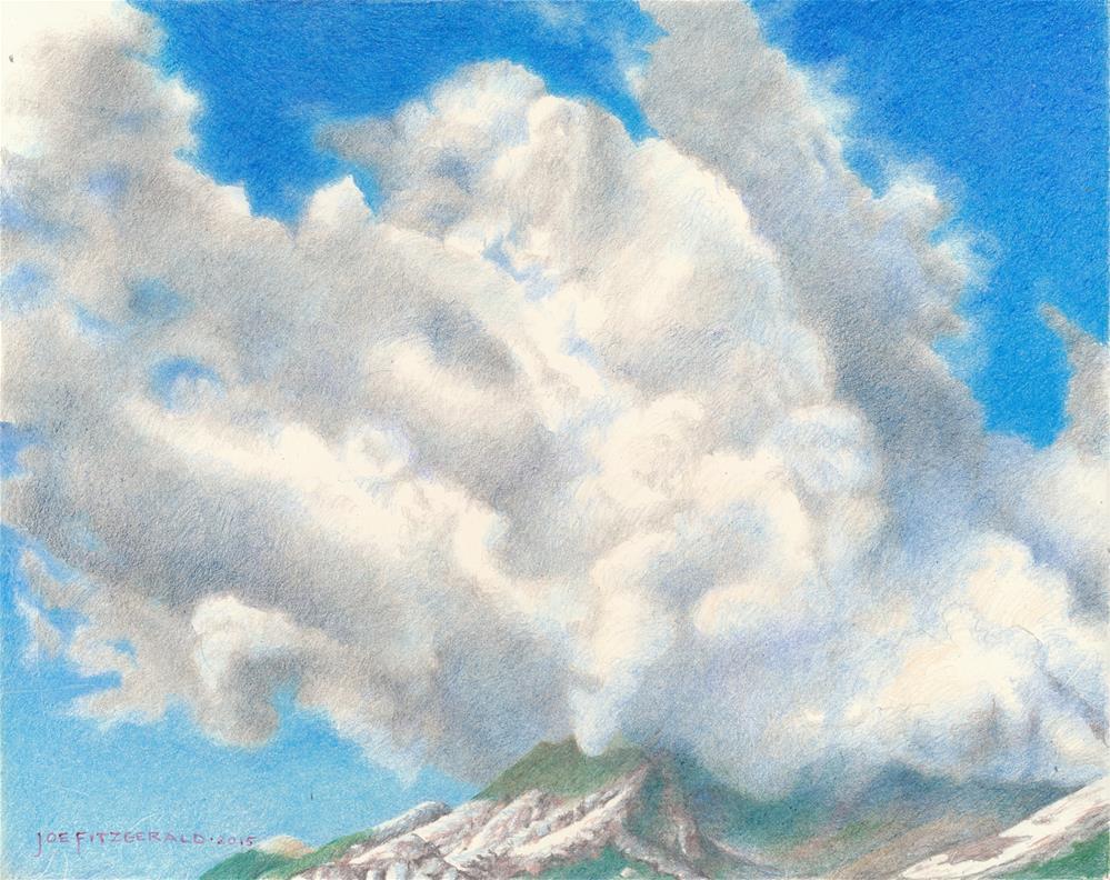 """""""In the Dolomites II"""" original fine art by Joe Fitzgerald"""
