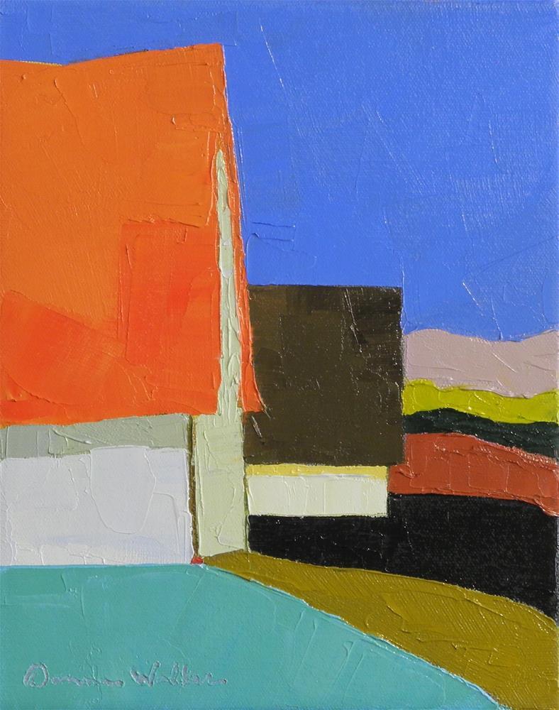 """""""Side by Side"""" original fine art by Donna Walker"""