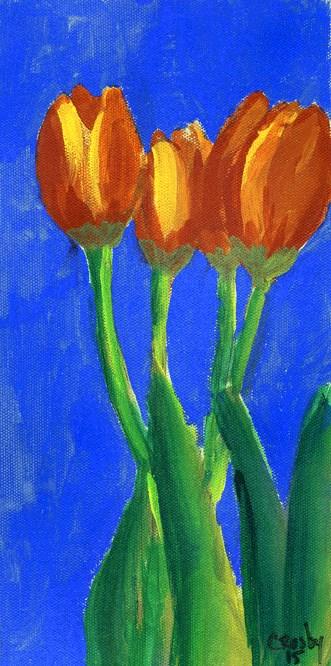 """""""Close Friends"""" original fine art by Donna Crosby"""