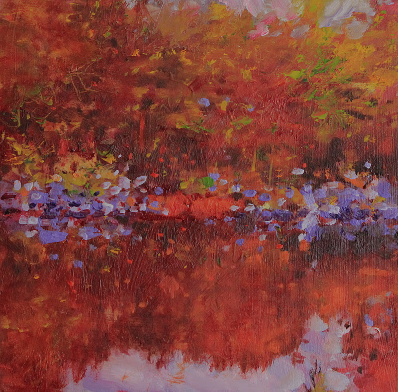 """The Pond"" original fine art by Ken Devine"