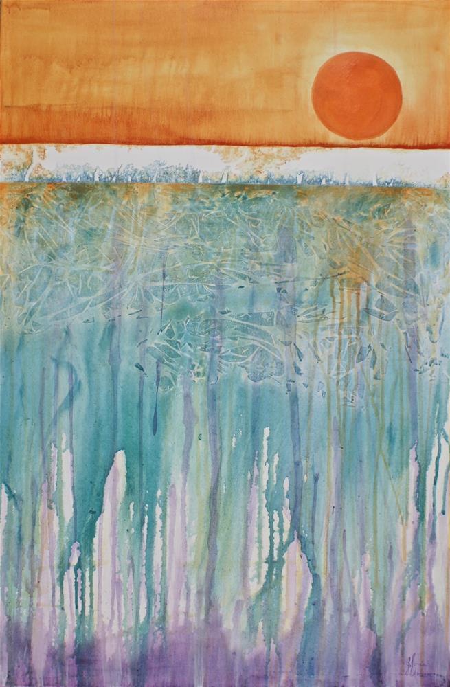 """Atmospheric Reflections"" original fine art by Gloria Urban"