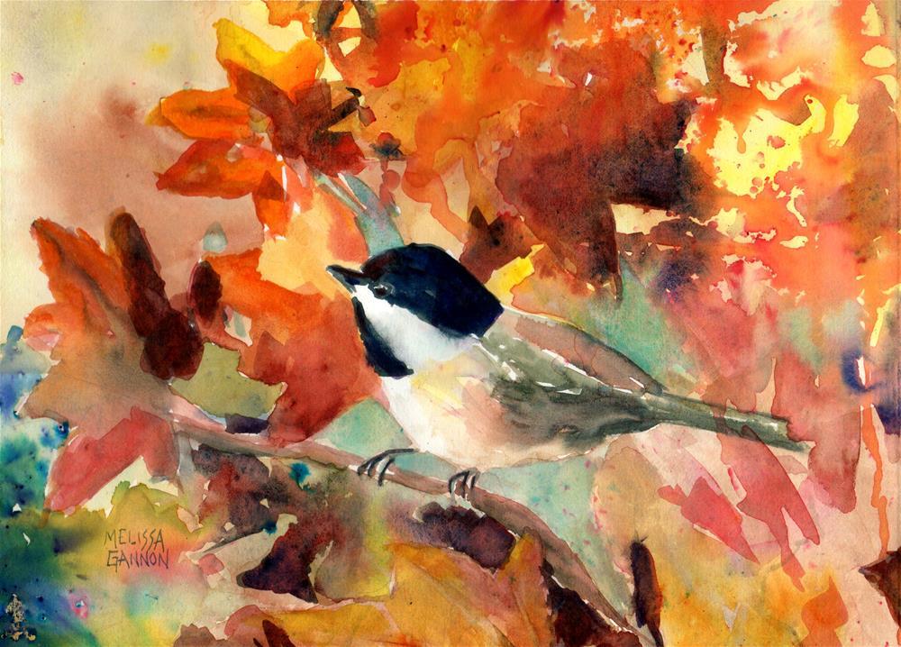 """Joy of the Day"" original fine art by Melissa Gannon"
