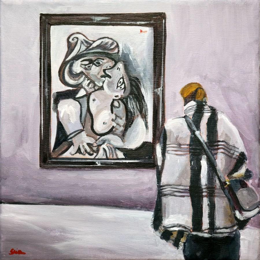 """""""1237 Pikisso"""" original fine art by Dietmar Stiller"""