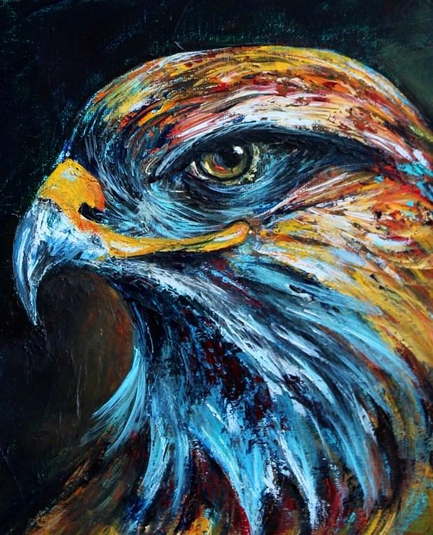 """""""Unwavering"""" original fine art by Joanne Abbott"""