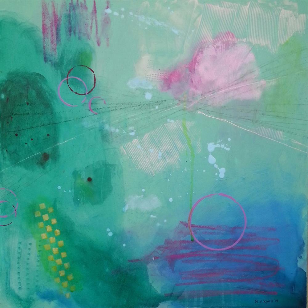 """Silver Line"" original fine art by Marie Lynch"