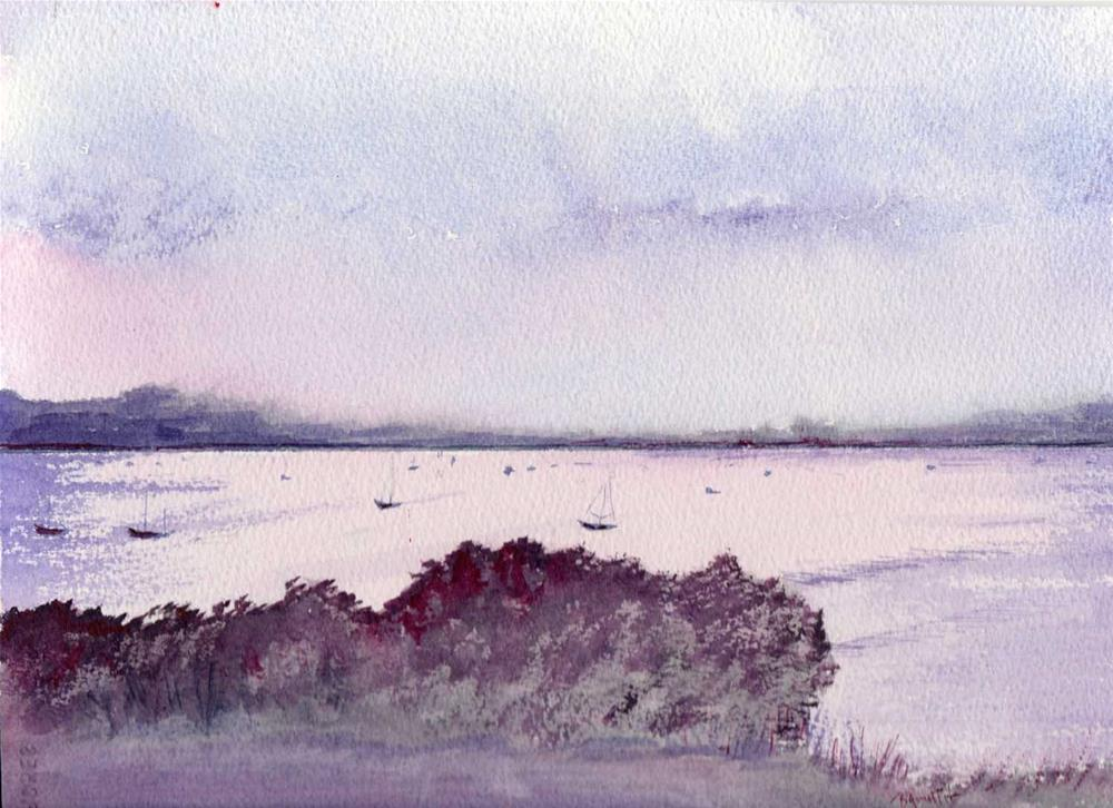 """Purple Twilight "" original fine art by Bunny Griffeth"