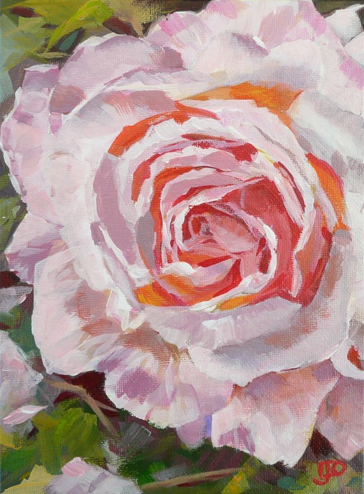 """""""Rose Allure"""" original fine art by Leanne Owen"""