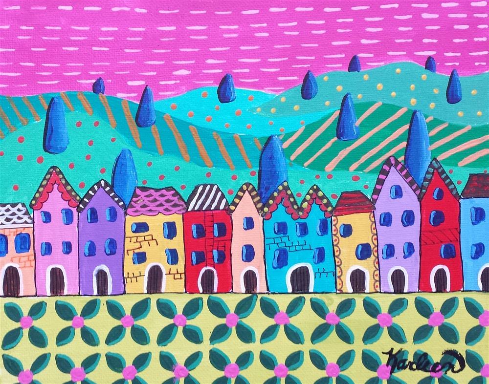 """Happy Valley"" original fine art by Karleen Kareem"