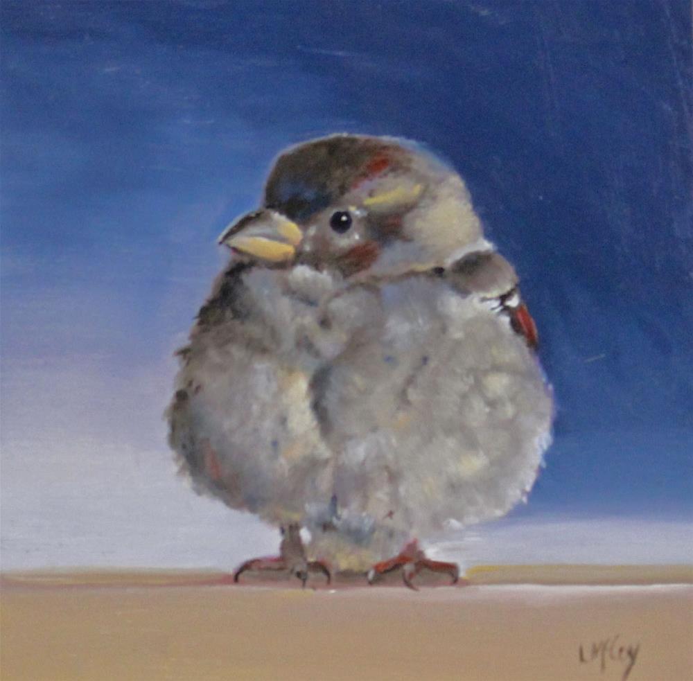 """Baby, It's Cold"" original fine art by Linda McCoy"