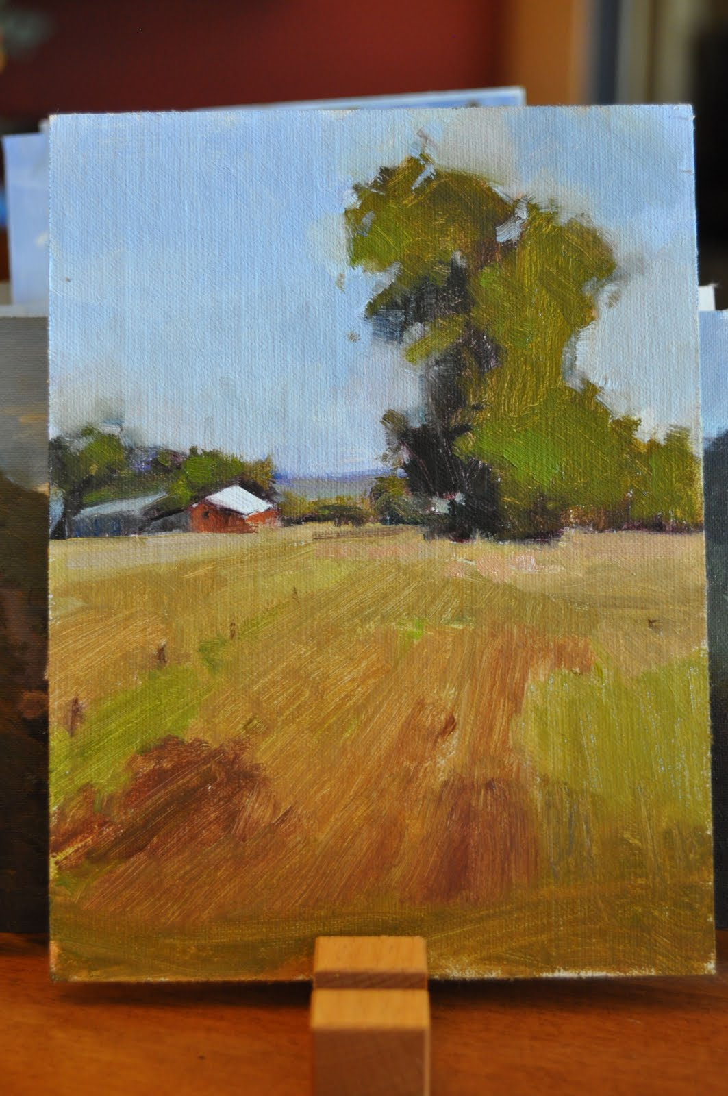 """""""Study 5 and 7-Lessons in Speed"""" original fine art by Julie Davis"""