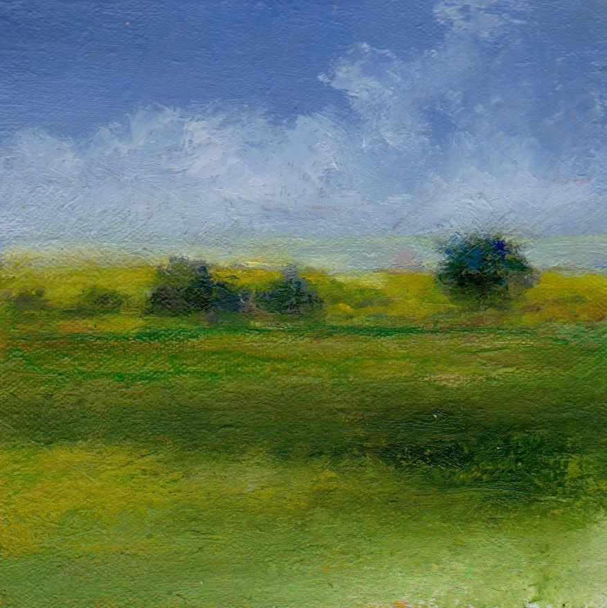 """end of summer"" original fine art by Mark DeBak"