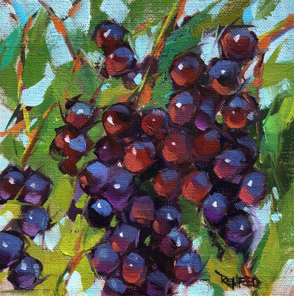 """On The Vine"" original fine art by Cathleen Rehfeld"
