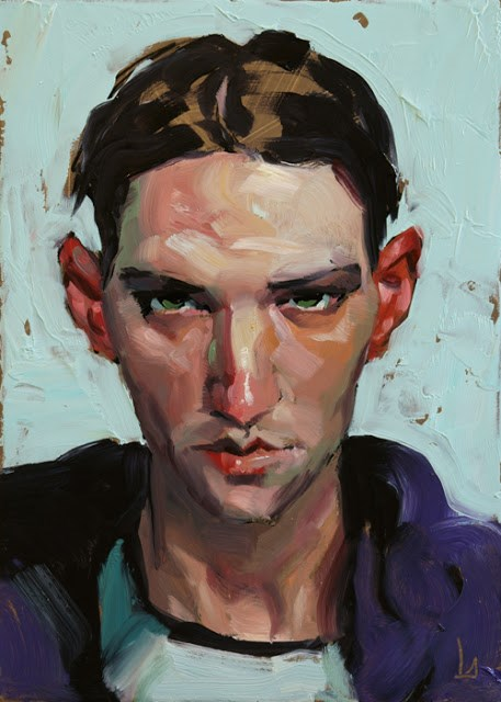 """Graceless"" original fine art by John Larriva"