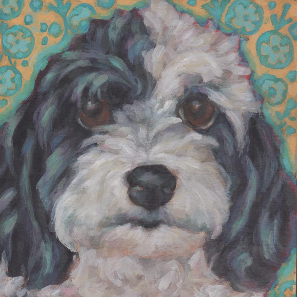 """Mattie"" original fine art by Kathy Hiserman"