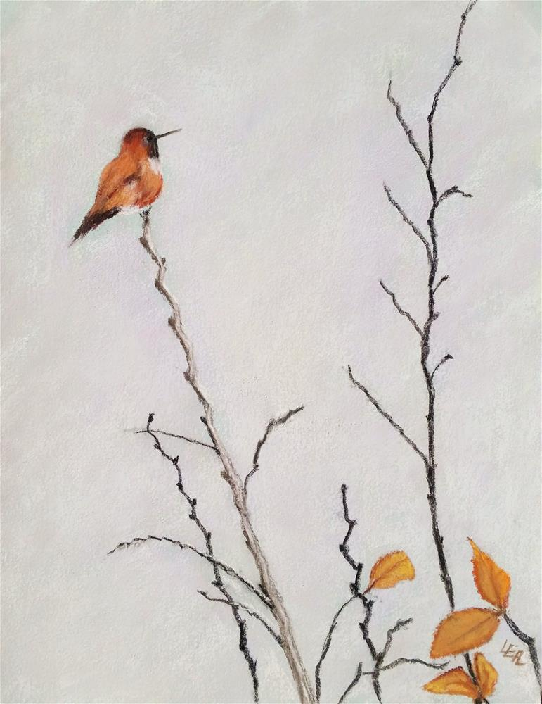 """Anticipation"" original fine art by Anna Lisa Leal"