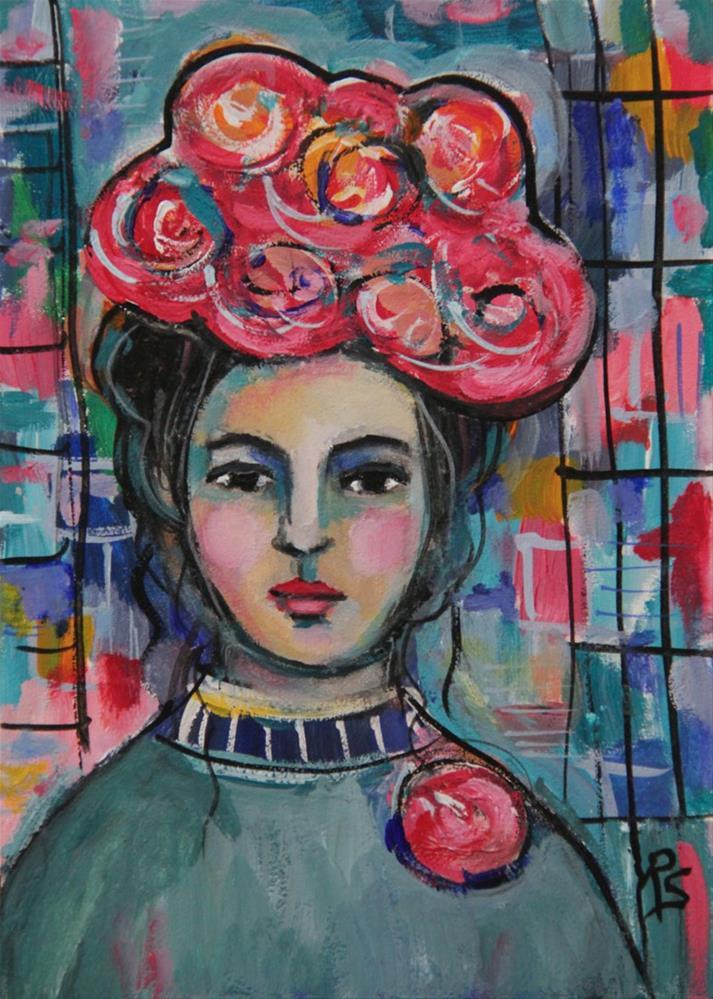 """Esme"" original fine art by Roberta Schmidt"